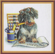 It's time to put pen to Paper Cross Stitch Kit