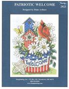 Patriotic Welcome Chart