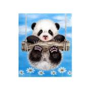 5D DIY Swing Panda Diamond Embroidery Painting Rhinestone Mosaic Room Decoration