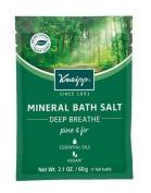Kneipp Mineral Bath Salt, Deep Breathe, Pine and Fir, 60ml