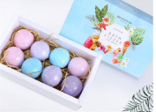 8pcs Bath Bombs Sets Natural Fizzies Spa Balls Handmade Soap Large Relax Spa Bom Lush Ideas Gifts for Women Best Relaxation Beauty Products