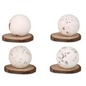 Bath Bombs,MuSheng(TM) Bath Bombs Ball Natural Sea Salt Lavender Bubble Essential Body Scrub Luxury Ballotin Handmade Bath Dry Skin Moisturise Spa
