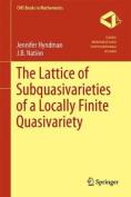 The Lattice of Subquasivarieties of a Locally Finite Quasivariety