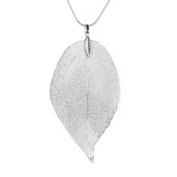 Gallity Women Special Leaves Leaf Pendant Necklace Ladies Long Sweater Chain Summer Beach Dress Necklace Jewellery
