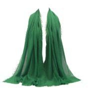 Sothread Women Islam Maxi Crinkle Cloud Hijab Scarf Shawl Muslim Soft Long Shawl Wrap