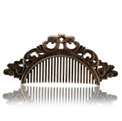 Comb Handmade Combs Hair Rosewood Rough Teeth Massage Straight Hair Comb Wood Carving Comb Beauty Comb
