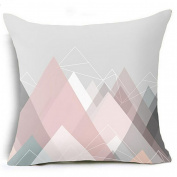 Geometric Pillow Case Waist Cushion Cover Sofa Home Decor