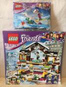 LEGO Friends Snow Resort Ice Rink & LEGO Friends Snowboard Tricks