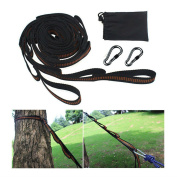 Hammock Straps adjustable Tree Hanging Heavy Duty Extension suspension system Camp Hike Gear
