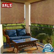 Outdoor Roller Sun Shades Roll Up Cover Windows Porches Gazebos Sunrooms and Other Indoor/Outdoor Structures Blind Porch Roller Piato Weather Resistant Fabric & eBook by BADA shop