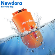 Newdora Swim Buoy - Open Water Swim Buoy Flotation Device With Dry Bag for Swimmers, Triathletes, and Snorkelers. Floats for Safer Swims