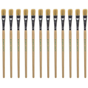 Dry Brush Size 14 - Flat Brush - Long Handle