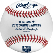 Rawlings Official 2018 Spring Training Florida FL Leather Official MLB Baseball - New in Rawlings Box