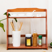 BSNOWF Shelf Bamboo Storage Solid wood Floorstanding Multifunction kitchen Storage rack Spice rack