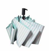 BiuTeFang Umbrellas Striped umbrella folding umbrella parasol manual folding umbrella portable small