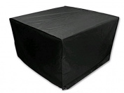 Furniture Sets Cover, Essort Patio Table and Chair Cover, Black, 120x120x74cm