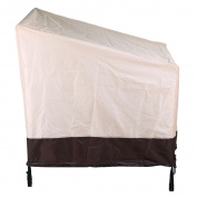 Topeakmart Outdoor Durable and Water Resistant Outdoor Furniture Cover 100cm x 100cm x 37'', Tan