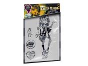 Revell Orbis Monster High Cleo de Nil Stencil