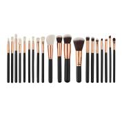 Cosmetic Brush,Clode® 20PCS Make Up Foundation Eyebrow Eyeliner Blush Cosmetic Concealer Nylon Hair Brushes