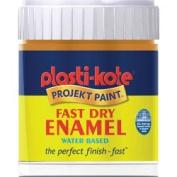 Plasti-kote Fast Dry Enamel Brush On 59ml Bottle Copper
