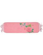 Pip Studio Bolster Good Morning I Colour Pink Green 22x70 cm I Reversible Bedding I Zip I Pure Cotton