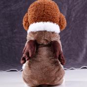 WensLTD Puppy Pet Dog Soft Plush Sweater Winter Warm Coat Apparel