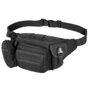 Yunnanhere Waterproof tactical waist bag Multifunctional exercise waist bag