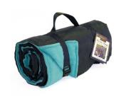 Tweedmill Textiles Rug Roll Waterproof Fleece Picnic Blanket Rug in Blue Made in the UK