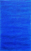Adgo Chester Shaggy Collection Solid Vivid Colour High Soft Pile Carpet Thick Plush Fluffy Furry Children Kids Bedroom Living Dining Room Shag Floor Rug, 2.4m x 3m, S17 - Royal Blue
