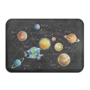 Cool Planets In Universe Super Absorbent Anti-Slip Mat Indoor/Outdoor Decor Rug Doormat 23.6(L)X15.7(W) Inch Home Decor