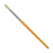 JAS : Childrens Short Handle Brush : Round Yellow no.4
