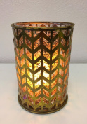 Arrowood Hurricane Candle Holder with FlameWave Realistic Flame