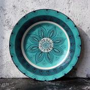 23cm Ceramic Plate for Restaurant Kitchen Steak Western Fruit Dessert Cake Plate Salad Plate