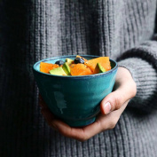 11cm Ceramic Bowl American Creative Dessert Hats Bowl for Home Kitchen Salad Fruit