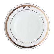 25cm European Cutlery Plate for Home Kitchen Cutlery Ramen Dessert Plate