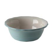 Blue Flower Ceramic Bowl Lovely Creative Tableware for Home Kitchen Breakfast Dessert Pudding