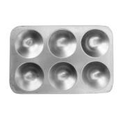 Palette Aluminium rectangle 15cm x 8.9cm .