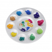 11-Well Round Paint Palettes