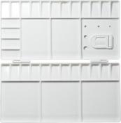 JAS : Palette Plastic : Folding Large 25cm x 10cm .