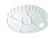 JAS : Palette Plastic : large kidney 24cm x 35cm .