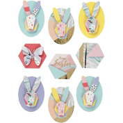 3D EASTER STICKERS - RABBITS, EMBELLISHMENTS 27092