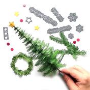 Transer® Metal Cutting Dies- Christmas Tree Wreath Handcrafts DIY Scrapbooking Embossing Album Paper Card Craft Die Tool