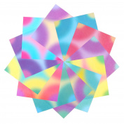 192 Sheets Origami Paper DIY Craft Folding Paper 14cm x 14cm 12 Different Gradient Colours
