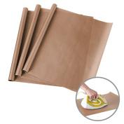 3 Pack PTFE Teflon Sheets for Heat Press Transfers Sheet 41cm x 60cm Non Stick Heat Resistant Craft Mat by ss shovan