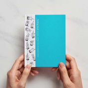 Taste Taiwan Design Alphabet Folding Book - Sky Blue