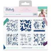 Sara Davies Flutterby Signature Collection - Foil Transfers - Wild & Free