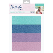 Sara Davies Flutterby Signature Collection - Luxury Craft Glitter Card