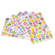 Naler Easter Stickers Sheet, 6-Pack