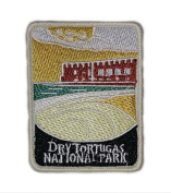 J and C Family Owned Dry Tortugas National Park Embroidered Sew/Iron-on Patch