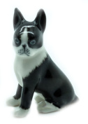 Animal Miniature Handmade Porcelain Statue Baby French Bull Figurine Collectibles Gift